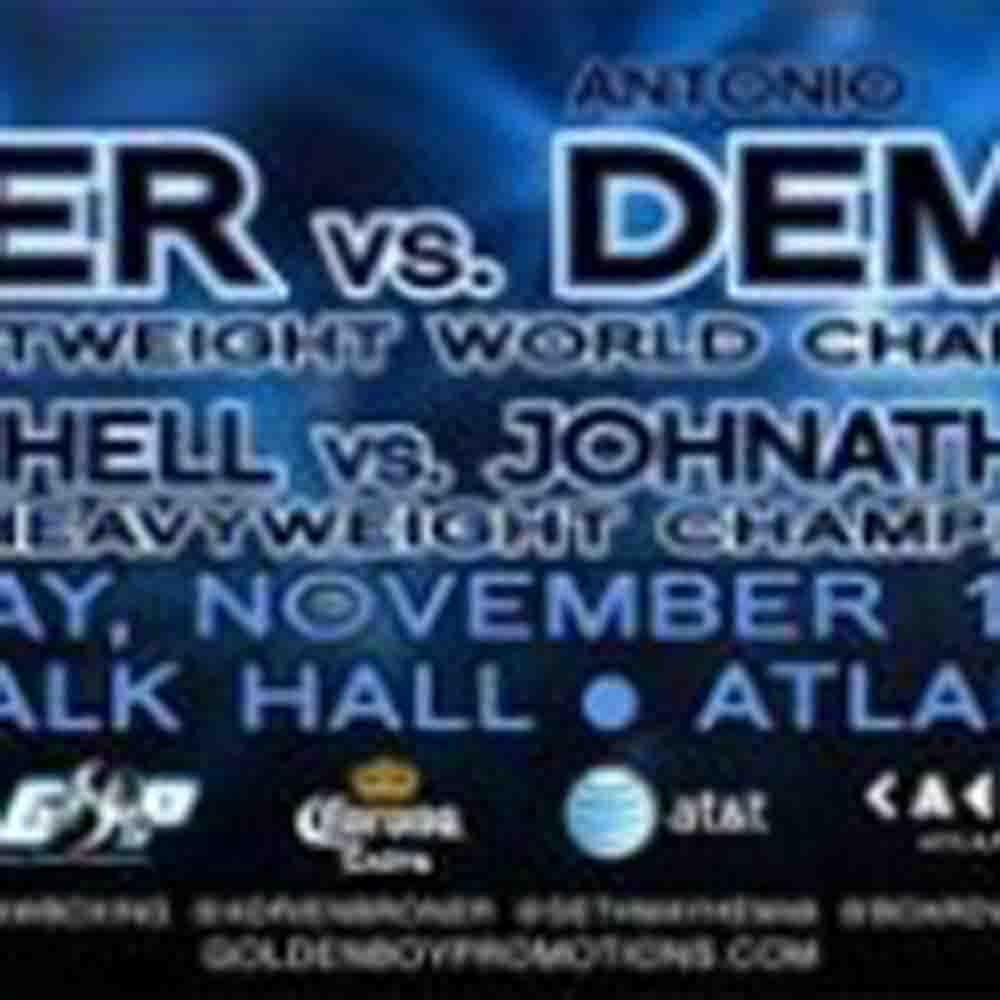 ANTONIO DEMARCO  TALKS ABOUT FIGHTING ADRIEN BRONER