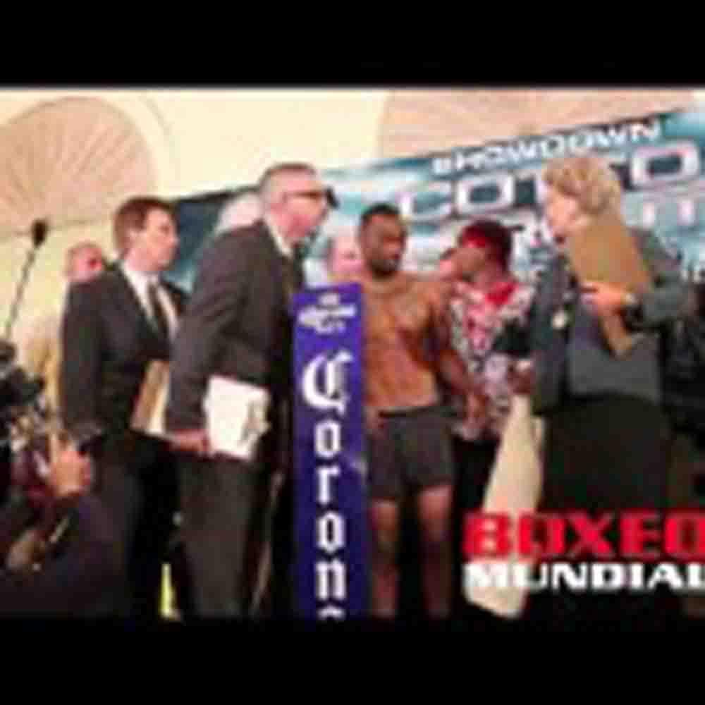 SHOWDOWN: COTTO VS TROUT WEIGH IN VIDEO
