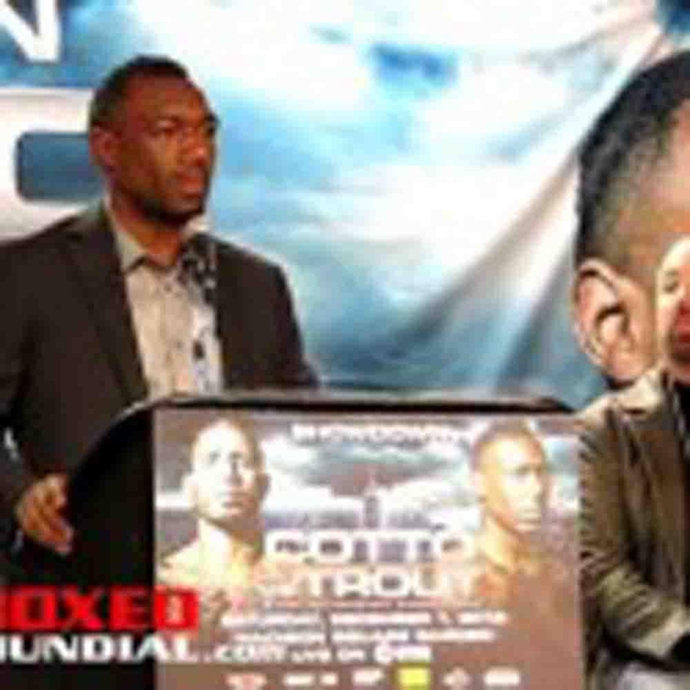 VIDEO: SHOWDOWN: COTTO VS TROUT POST FIGHT PRESS