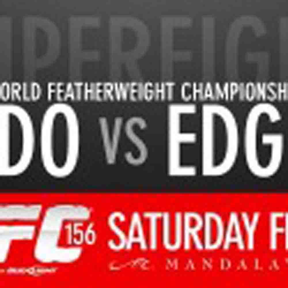 TICKETS FOR UFC 156: ALDO VS EDGAR ON SALE FRIDAY NOV 30