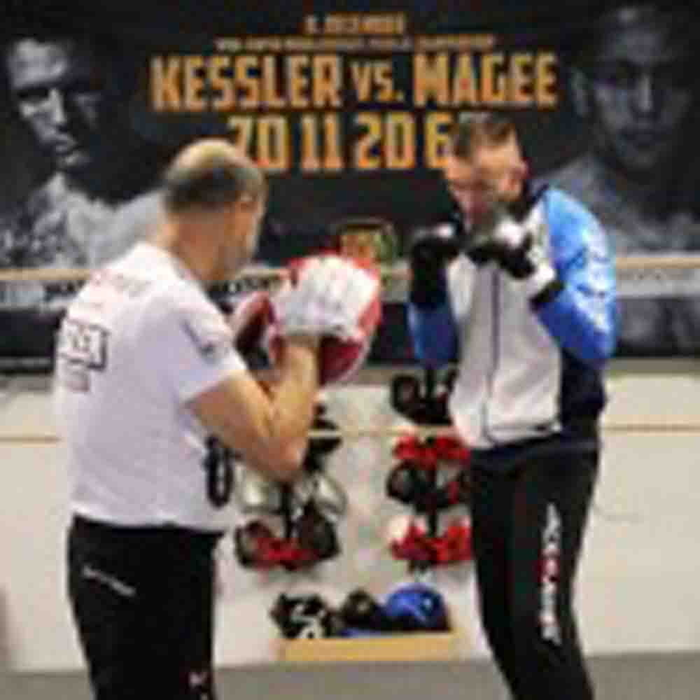 """Kessler-Magee work-out – Montoya: """"Magee won´t be there for the tenth round"""
