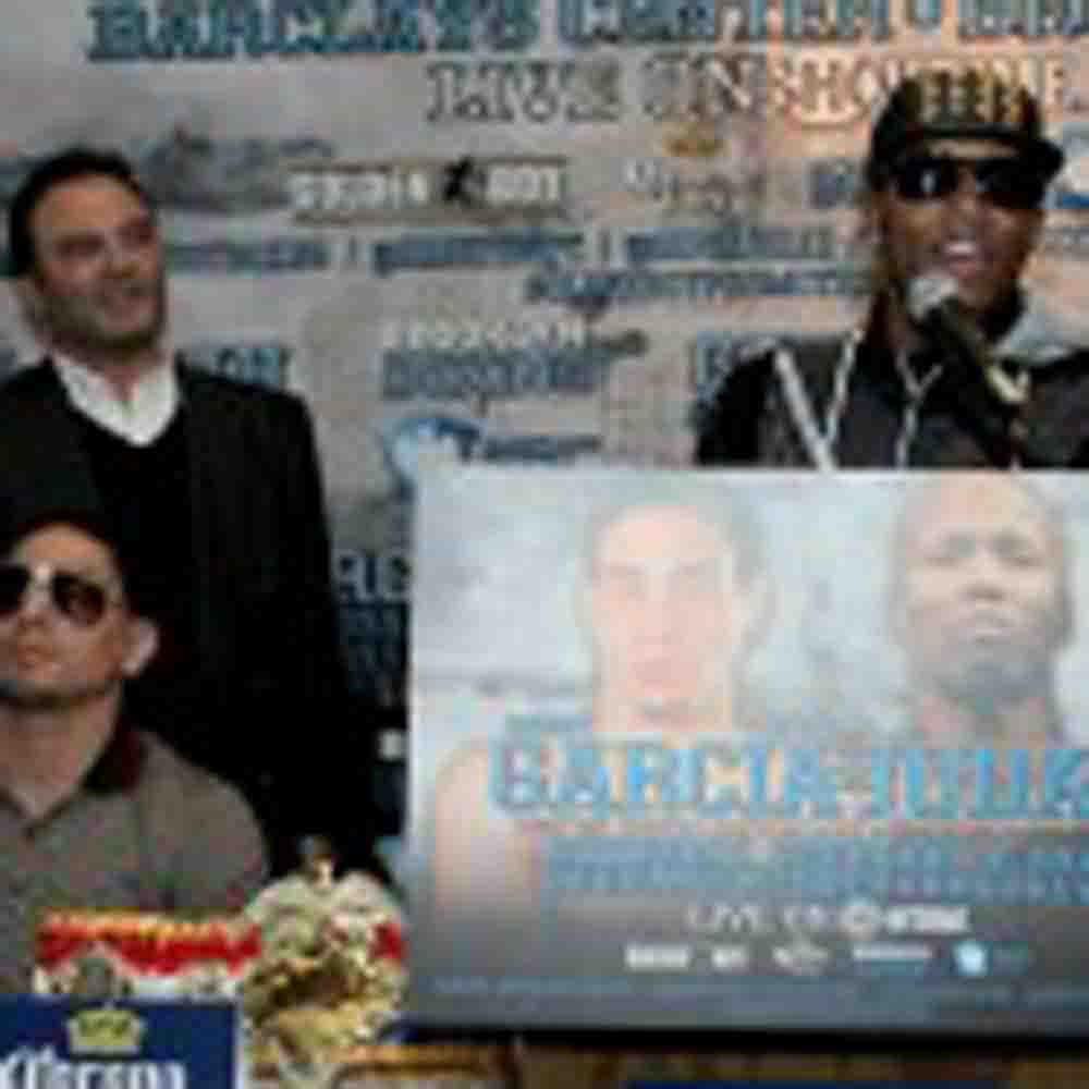 Danny Garcia & Zab Judah Announcement Press Conference Quotes and photos