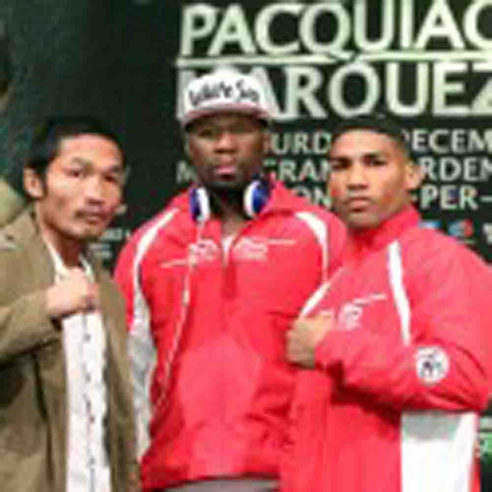 Photos: Undercard press conference of Pacquiao-Marquez