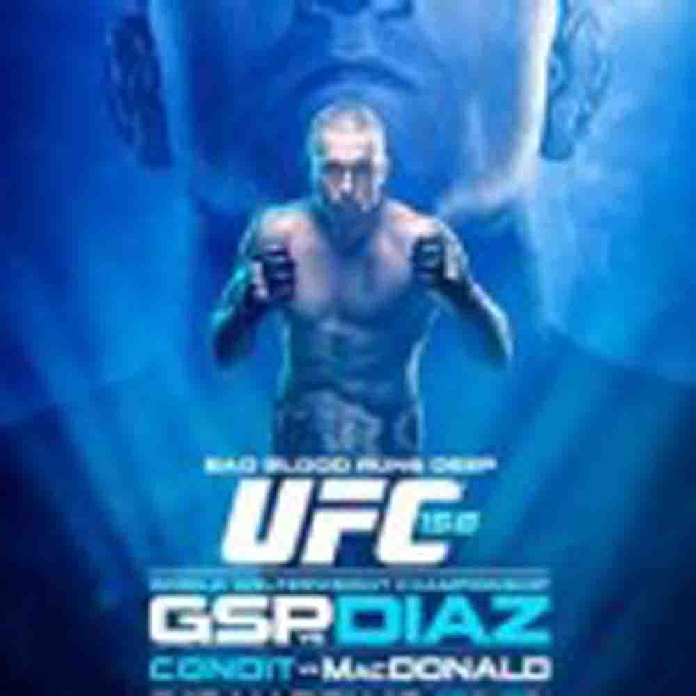 ST-PIERRE VS. DIAZ OFFICIAL FOR UFC 158