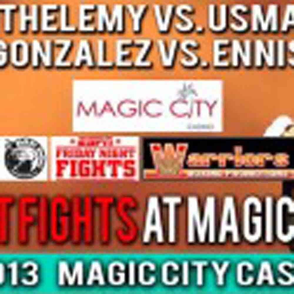 OFFICIAL WEIGH-IN FOR 'FRIDAY NIGHT FIGHTS AT MAGIC CITY' BOXING EVENT