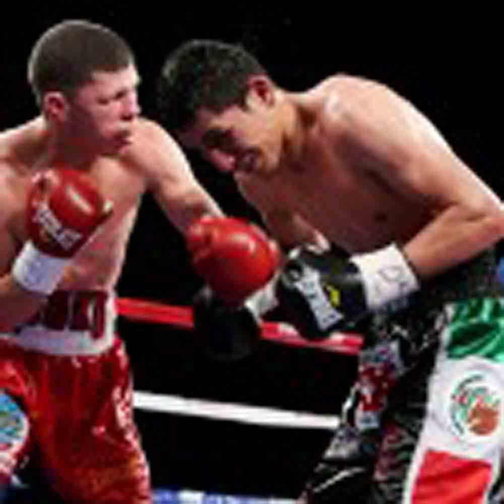 'Rocky' Martínez analiza la pelea contra Burgos