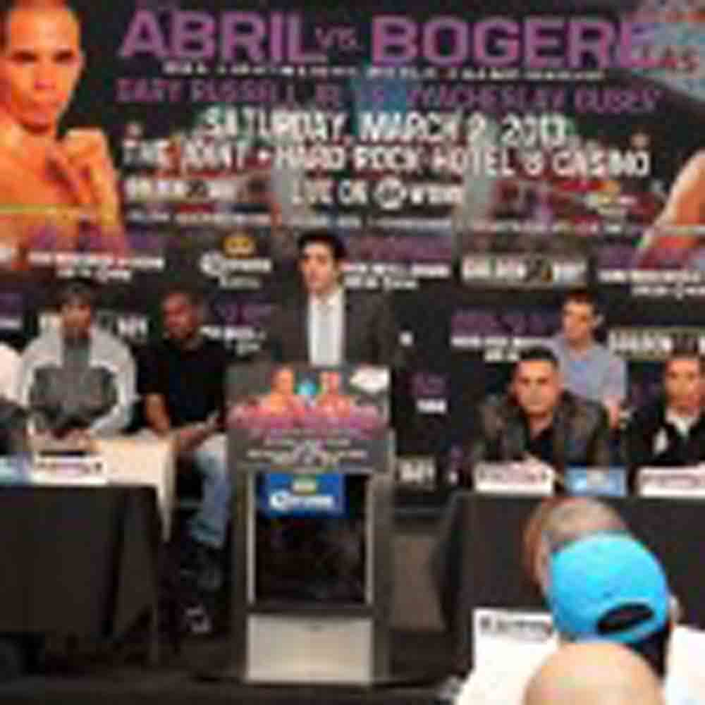 Abril-Bogere & Russell-Gusev Final Press Conference