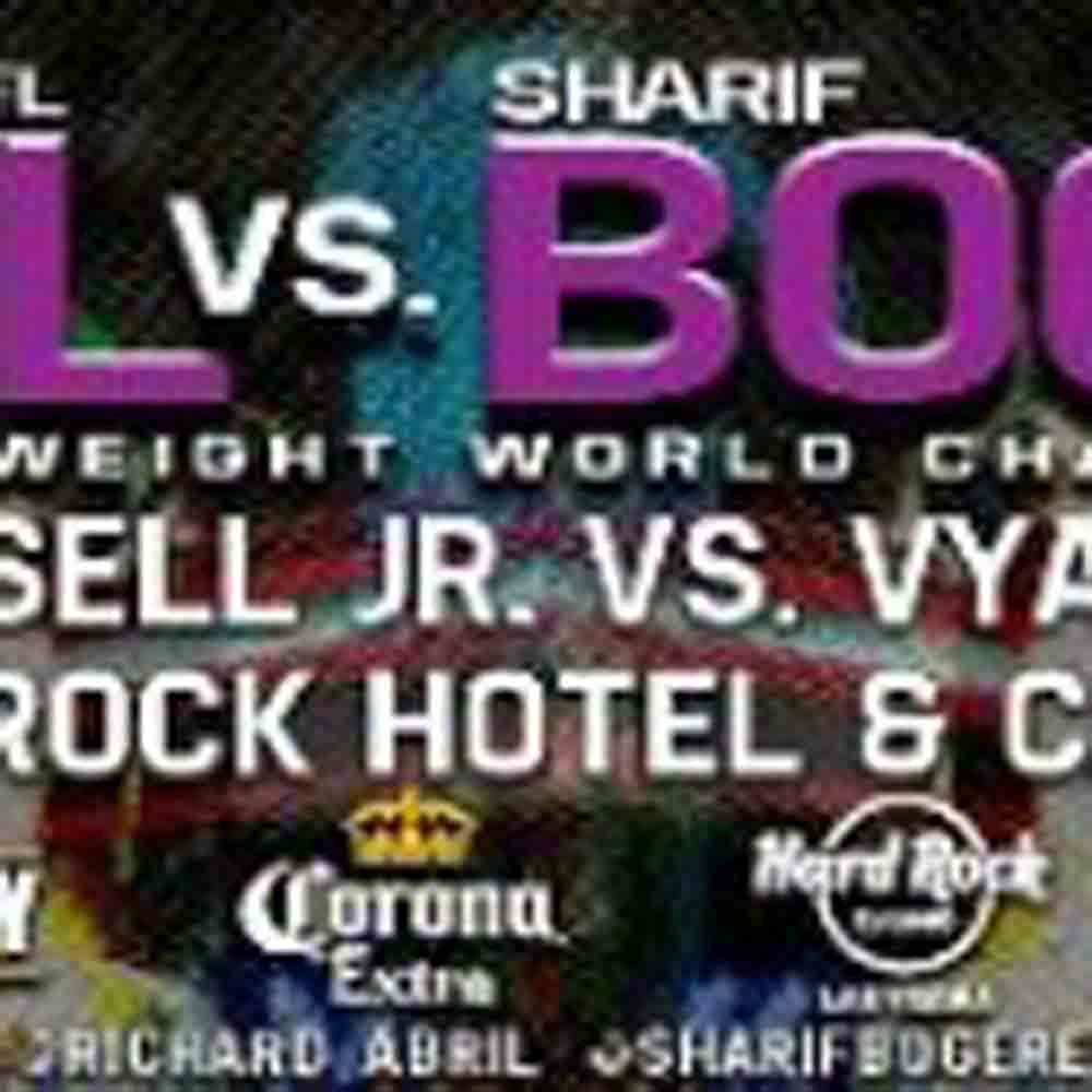 Full Undercard Announced For Tomorrow's SHOWTIME Event From Hard Rock Hotel & Casino in Las Vegas