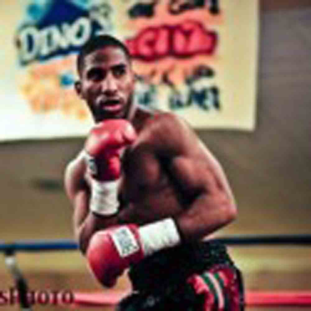 "Anthony ""Juice"" Young decisions Samuel Amoako in main event at The Claridge Hotel in Atlantic City"