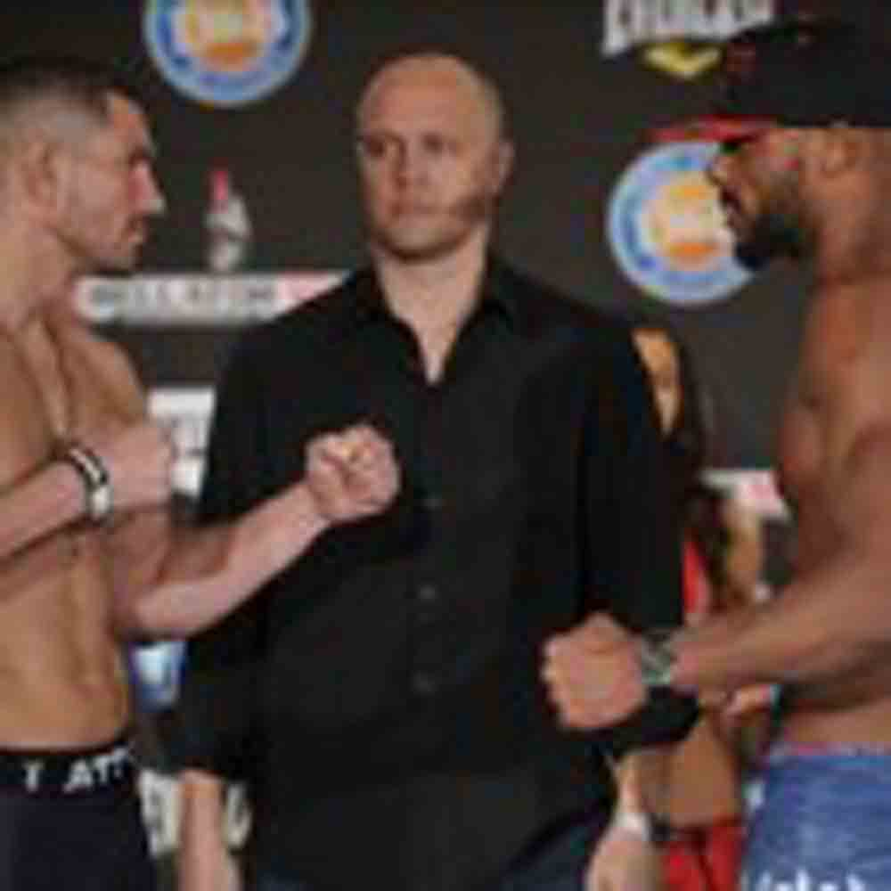 Bellator MMA Weigh-In Results