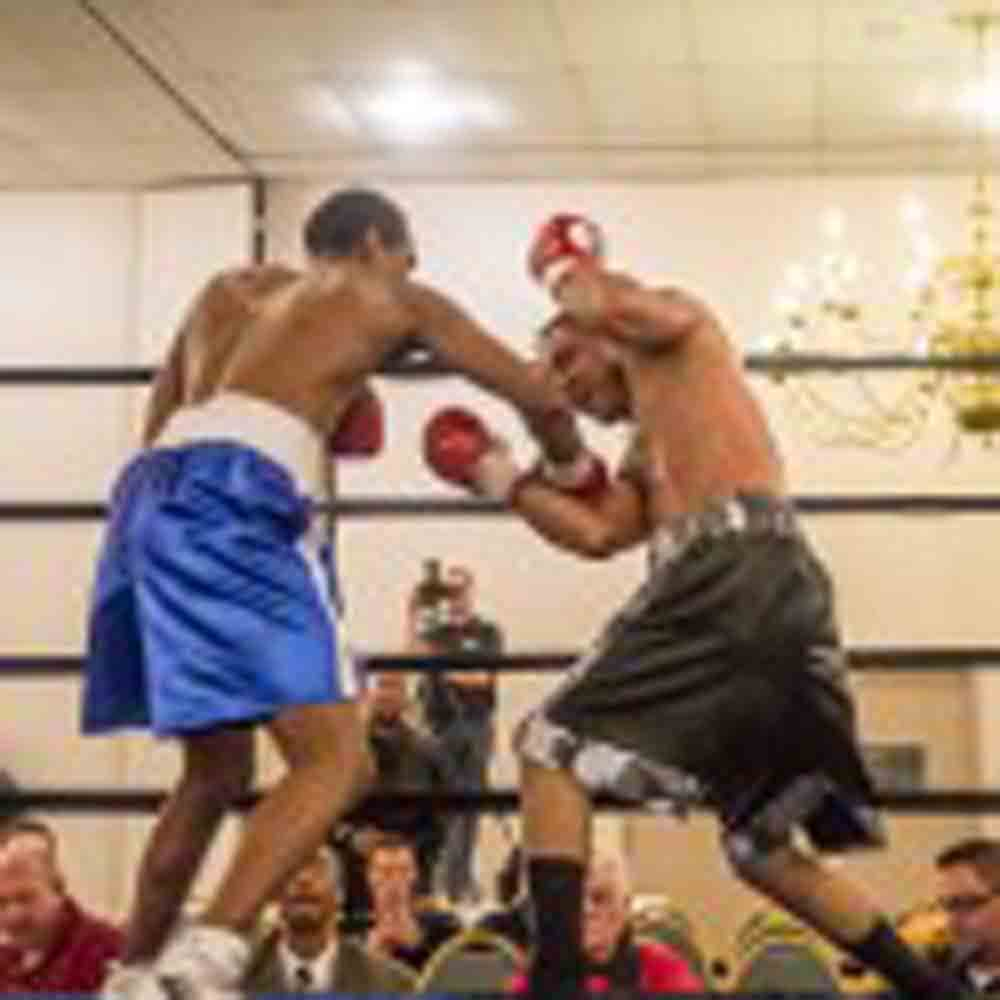 COLLINS STOPS RIVERA IN EIGHT; KINCH DECISIONS MIRANDA AND THOMPSON STOPS BLAKE IN ALLENTOWN