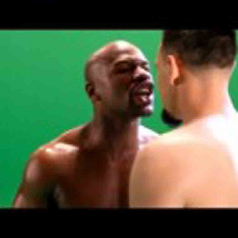 Video: Floyd Mayweather and Robert Guerrero: Heated First Encounter