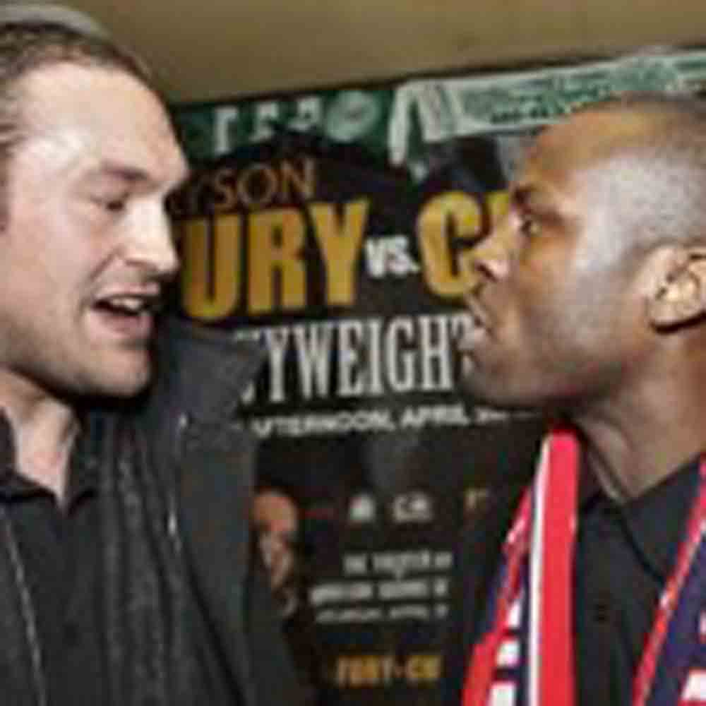 Heated Exchange at Tyson Fury – Steve Cunningham Press Conference