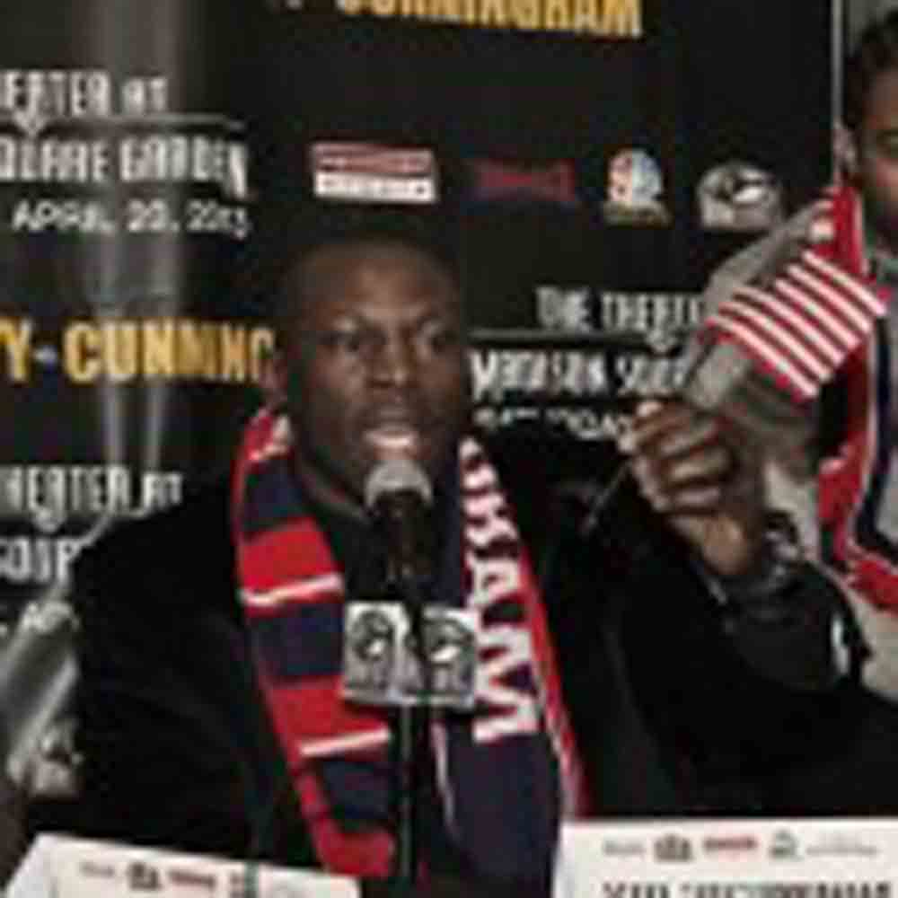 """Two-time world champion Steve """"USS"""" Cunningham signs with Al Haymon"""