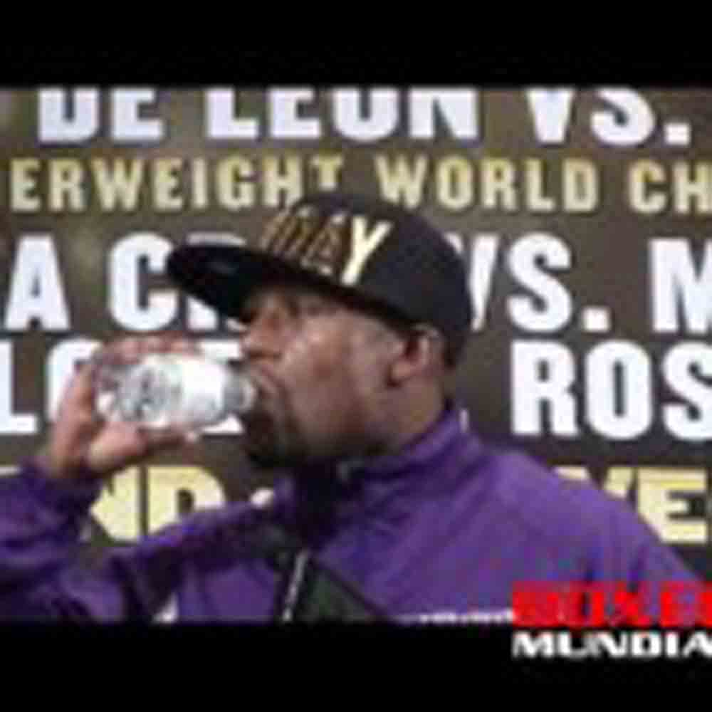 Video: Floyd Mayweather at the MAY DAY Post fight press conference