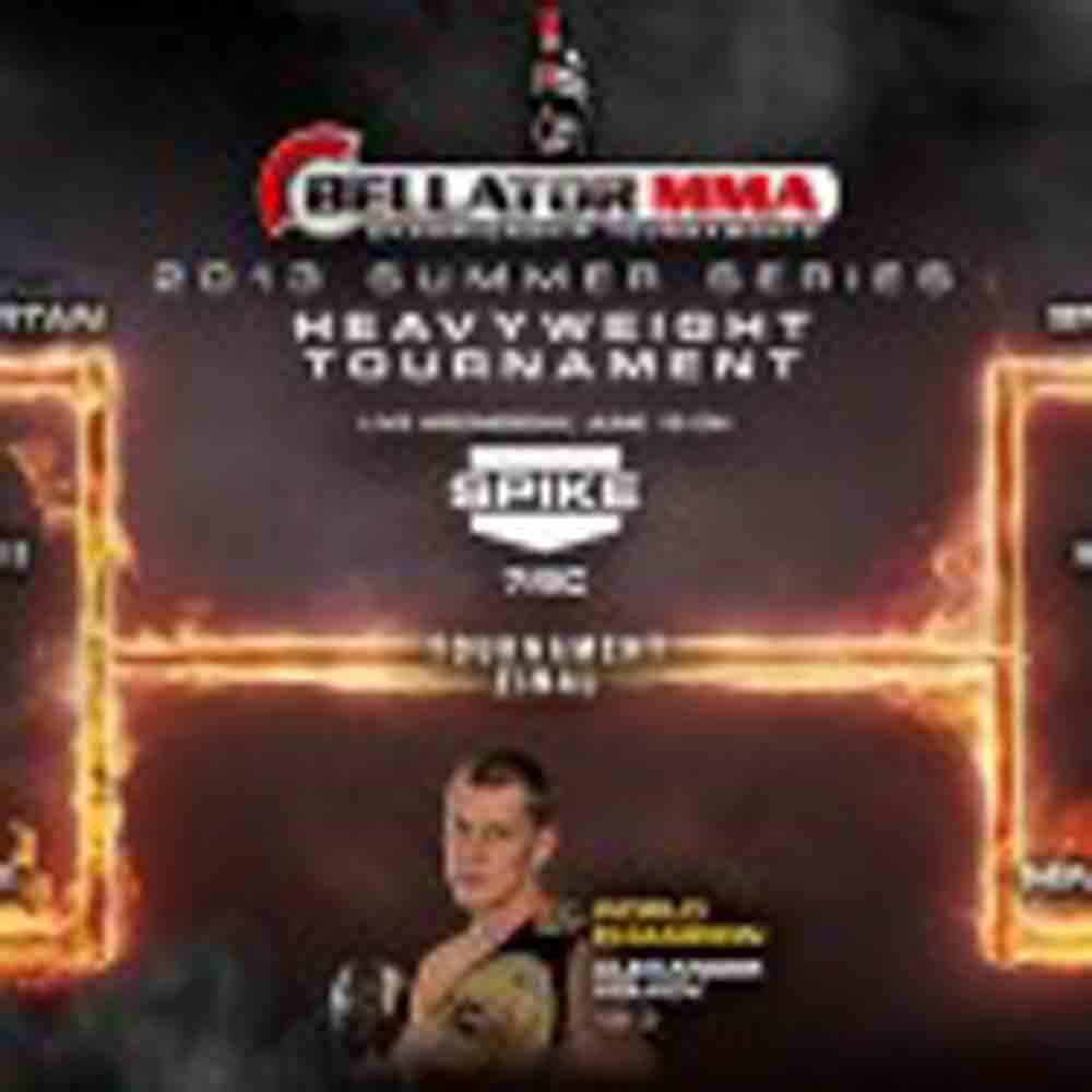 Bellator Summer Series Heavyweight Tournament Begins June 19th From WinStar World Casino Live on Spike