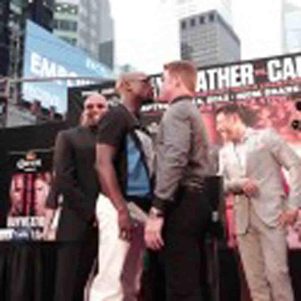 VIDEO: FLOYD MAYWEATHER VS. CANELO ALVAREZ PRESS CONFERENCE IN NEW YORK CITY