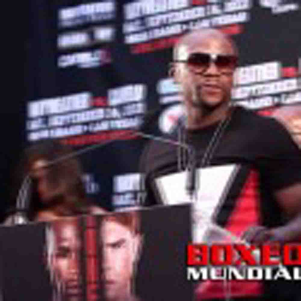 VIDEO: FLOYD MAYWEATHER ROUND TABLE FOR MAYWEATHER VS CANELO NY PRESS UNCUT PT1