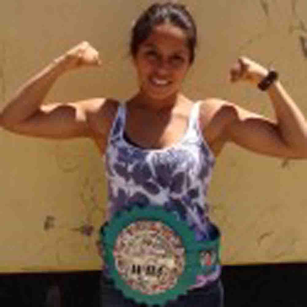 Victoria Argueta lista para la primera defensa de su cinturón