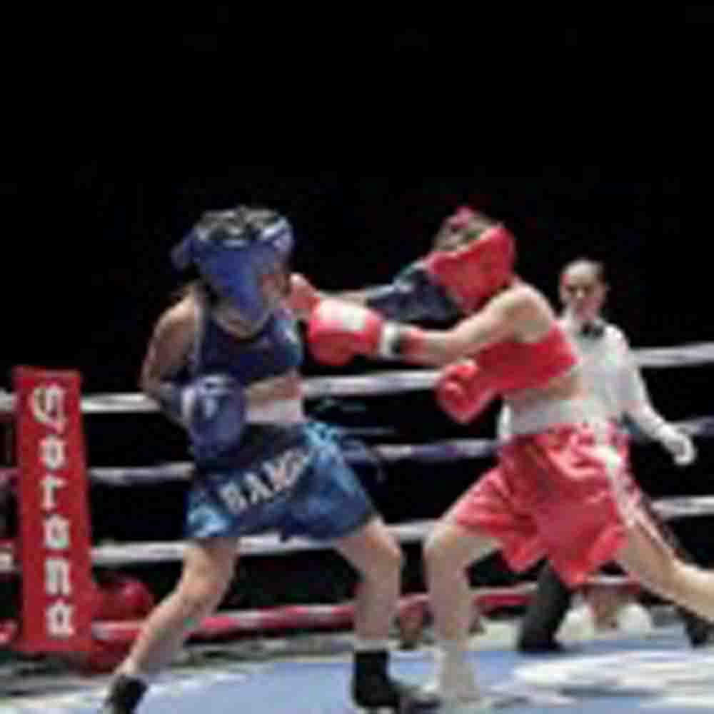 México / Gran calidad en la función de box amateur en Santa Cecilia