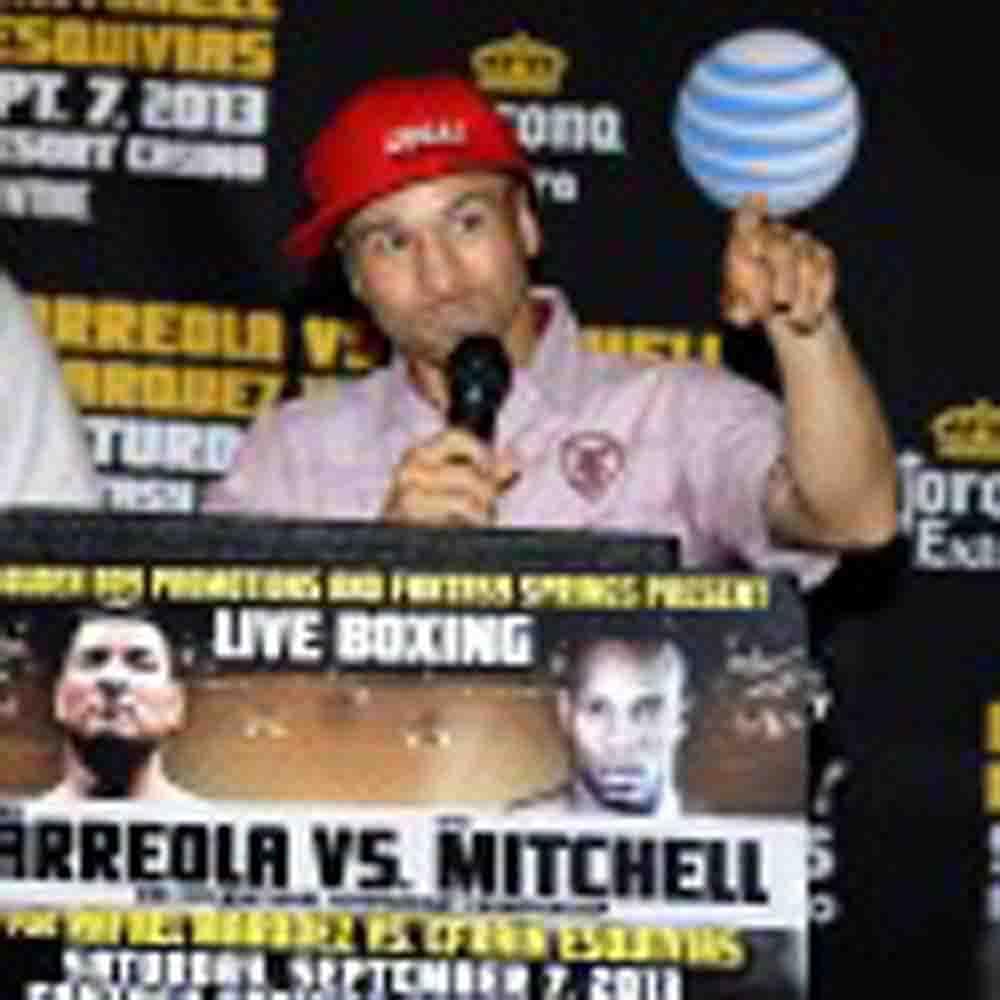 FINAL PRESS CONFERENCE: CHRIS ARREOLA VS SETH MITCHELL,