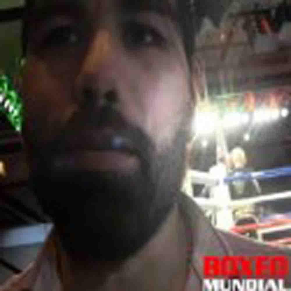 Alfredo Angulo: 'Yo respeto a Lara, pero no respeto que está hablando #$%$.'