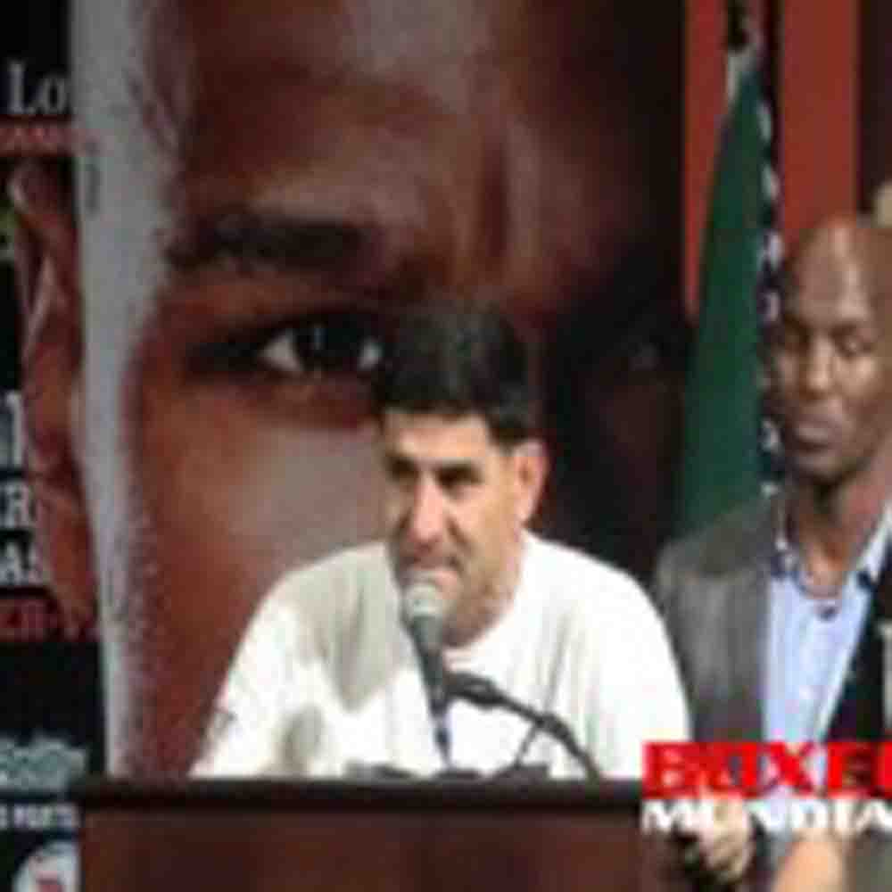 Video: Danny Garcia at the post fight press conference for his fight with Matthysse