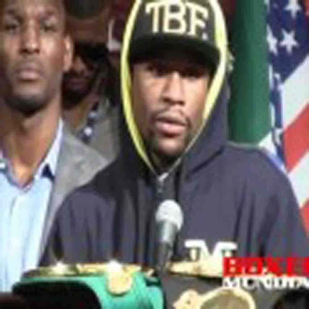 Video: Floyd Myweather and Canelo Alvarez speak at post fight presser