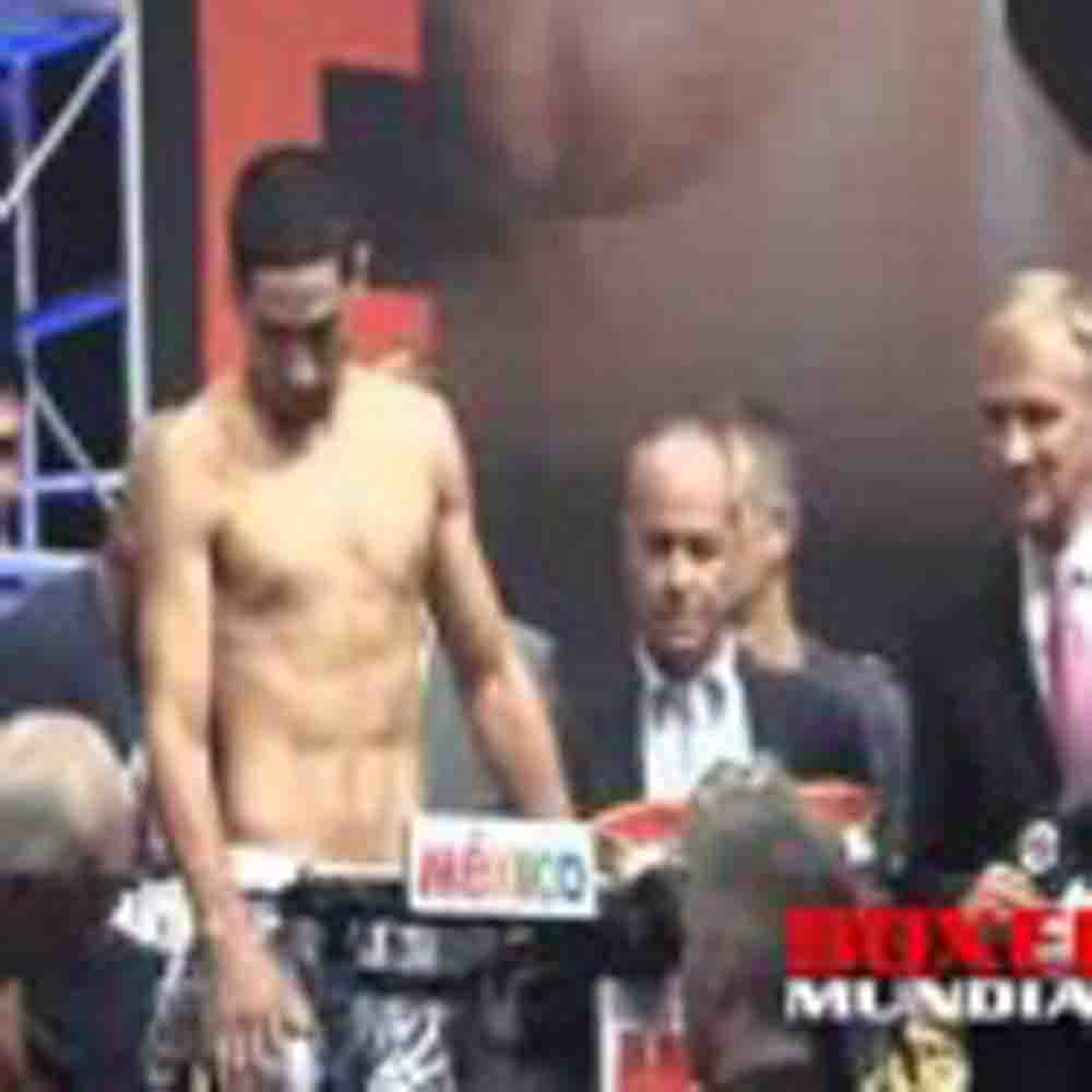Video: Pesaje Oficial Danny Garcia 140 lbs vs Lucas Matthysse140lbs