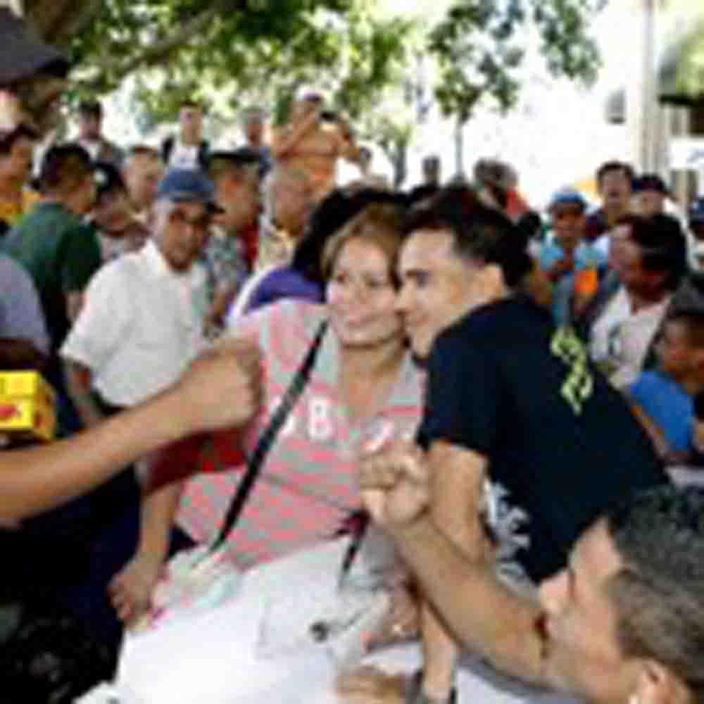 Atraen multitudes 'Tyson' y Segura en Hermosillo