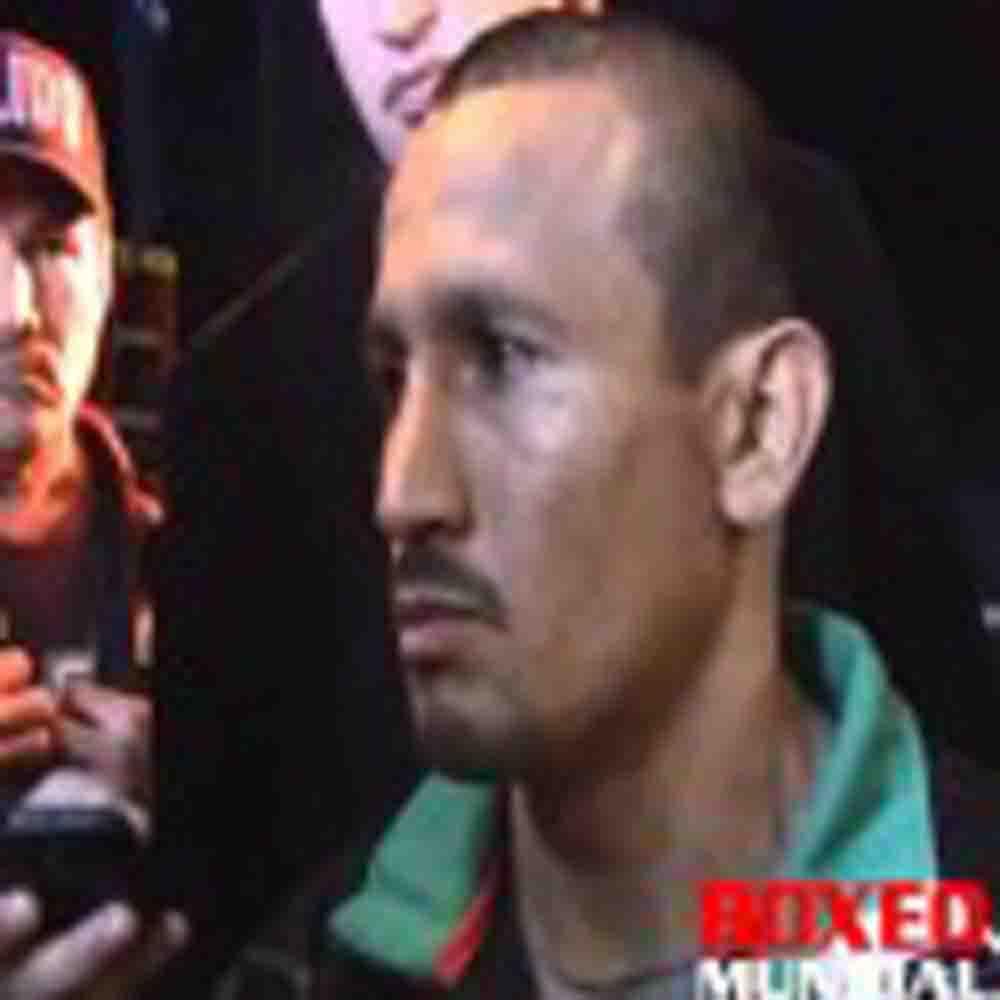 Video: Entrevista con Orlando Salido hablando sobre su encuentro con Orlando Cruz