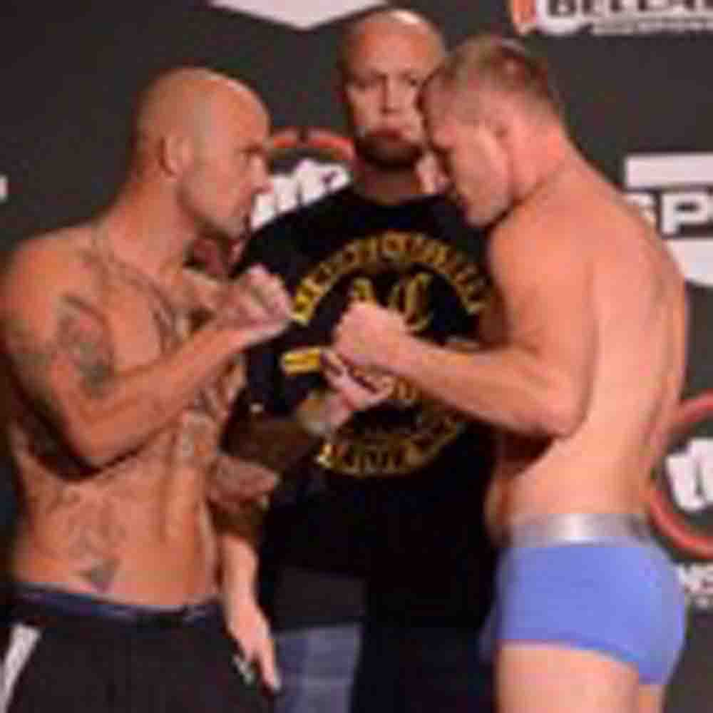 Bellator Weigh-In Results from Pennsylvania's Sands Casino