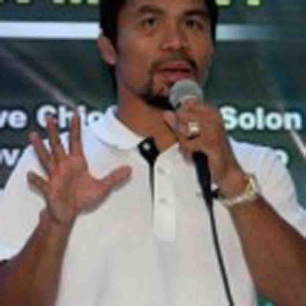 Congelan cuentas bancarias de Manny Pacquiao