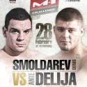Smoldarev vs. Delija headlines 'M-1 Challenge 45' Feb. 28 in Russia