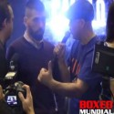 Video: Saul Canelo Alvarez and Alfredo Angulo arrive in Vegas for their fight