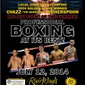 Chazz Witherspoon to take on Tyabb Beale on Saturday, July 12
