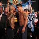 MIGUEL COTTO AND SERGIO MARTINEZ MAKING WEIGHT PHOTO GALLERY