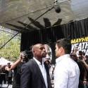 "THE ""MAYHEM"" MARVELS: MAYWEATHER vs. MAIDANA 2 PRESS TOUR WRAPS UP IN LOS ANGELES"