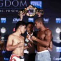 ONE FC: RISE OF THE KINGDOM OFFICIAL WEIGH-IN RESULTS