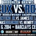 "FIGHTERS ON DEC. 6 ""DAVID LEMIEUX VS. GABRIEL ROSADO"" BARCLAYS CENTER CARD SHARE TRAINING CAMP UPDATES"