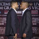 """""""ROYAL BATTLE: AMIR KHAN VS. DEVON ALEXANDER"""" FIGHTERS DISCUSS TRAINING CAMP AND THE HOLIDAY SEASON"""