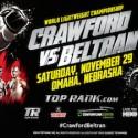Crawford y Beltrán este sábado por Azteca 7, la 'Casa del Boxeo'