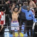 Debuta Boxing Series con el pie derecho en NBC en el MGM