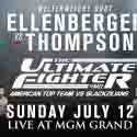 THE ULTIMATE FIGHTER FINALE SUNDAY, JULY 12 AT MGM GRAND
