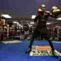HEAVYWEIGHT WORLD CHAMPION DEONTAY WILDER, CHALLENGER ERIC MOLINA AND UNDERCARD FIGHTERS MEDIA WORKOUT