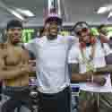 PROMOTER FLOYD MAYWEATHER AND PREMIER BOXING CHAMPIONS FIGHTER MEDIA WORKOUT