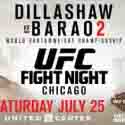 DILLASHAW AND BARAO COLLIDE IN LONG-AWAITED CHAMPIONSHIP REMATCH AT CHICAGO'S UNITED CENTER