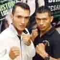 'Zurdito' Sánchez y César Juárez calientan la pelea de este sábado en Los Mochis