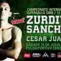 Cierra preparación 'Zurdito' Sánchez para pelea con César Juárez