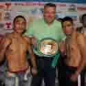 """""""Payasito"""" Hernández y """"Chato"""" Morales, listos para su batalla"""